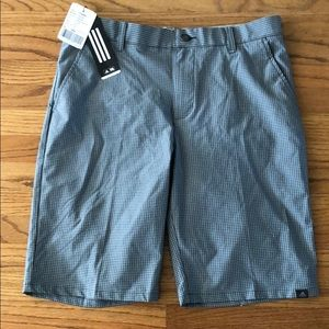 Adidas carbon grey golf shorts